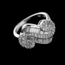 Stříbrný prsten R424