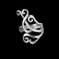Stříbrný prsten R434