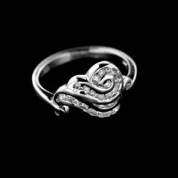 Stříbrný prsten R447