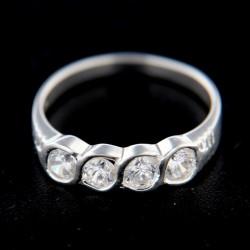 Stříbrný prsten R260