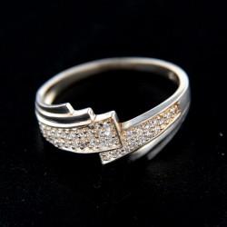 Stříbrný prsten R285