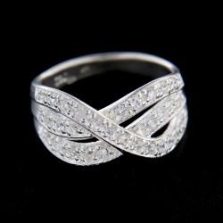 Stříbrný prsten R303