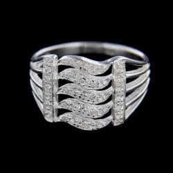 Stříbrný prsten R306