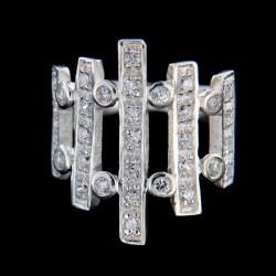Stříbrný prsten R308