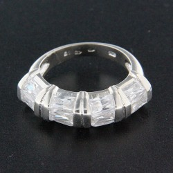 Stříbrný prsten R332