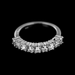 Stříbrný prsten R393
