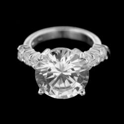Stříbrný prsten R395