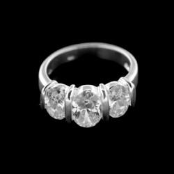 Stříbrný prsten R024