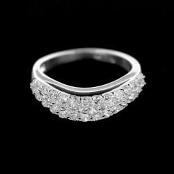 Stříbrný prsten R025