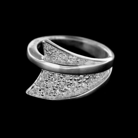 Stříbrný prsten R214