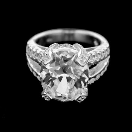Stříbrný prsten R227