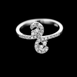 Stříbrný prsten R470