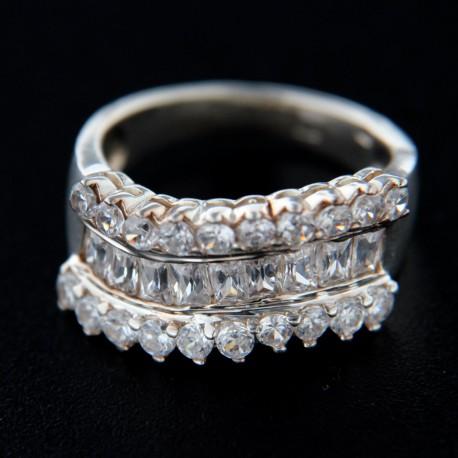 Stříbrný prsten R243