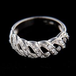 Stříbrný prsten R245
