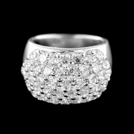Stříbrný prsten R780
