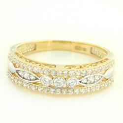 Zlatý prsten PYZ2834