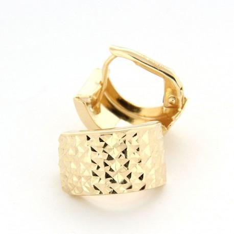 Zlaté náušnice E10346-056