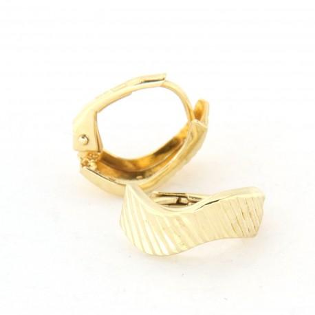 Zlaté náušnice E10341-022