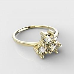 Dětský zlatý prstýnek BeKid - 361 (žluté zlato Au585)