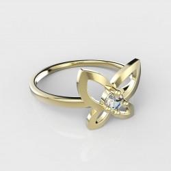 Dětský zlatý prstýnek BeKid - 844 (žluté zlato Au585)