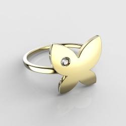 Dětský zlatý prstýnek BeKid - 843 (žluté zlato Au585)