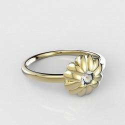 Dětský zlatý prstýnek BeKid - 841 (žluté zlato Au585)