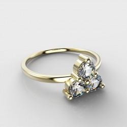Dětský zlatý prstýnek BeKid - 773 (žluté zlato Au585)