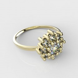 Dětský zlatý prstýnek BeKid - 319 (žluté zlato Au585)