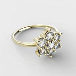 Dětský zlatý prstýnek BeKid - 109 (žluté zlato Au585)