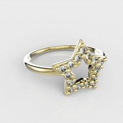 Dětský zlatý prstýnek BeKid - 826 (žluté zlato Au585)