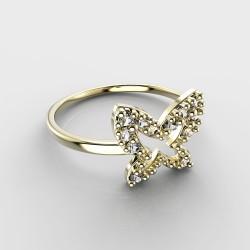 Dětský zlatý prstýnek BeKid - 846 (žluté zlato Au585)