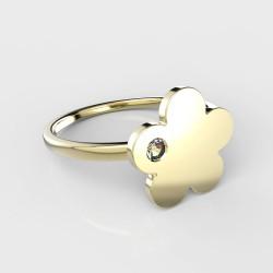 Dětský zlatý prstýnek BeKid - 852 (žluté zlato Au585)