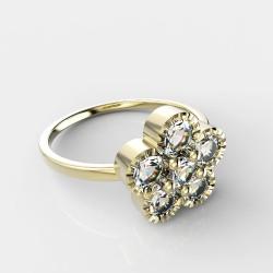 Dětský zlatý prstýnek BeKid - 856 (žluté zlato Au585)