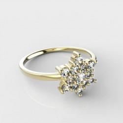 Dětský zlatý prstýnek BeKid - 090 (žluté zlato Au585)