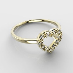 Dětský zlatý prstýnek BeKid - 858 (žluté zlato Au585)