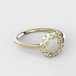 Dětský zlatý prstýnek BeKid - 855 (žluté zlato Au585)