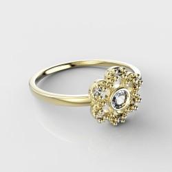 Dětský zlatý prstýnek BeKid - 854 (žluté zlato Au585)