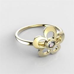 Dětský zlatý prstýnek BeKid - 833 (žluté zlato Au585)