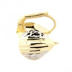 Zlaté náušnice HSE211