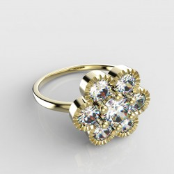 Dětský zlatý prstýnek BeKid - 140 (žluté zlato Au585)