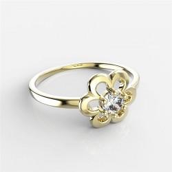 Dětský zlatý prstýnek BeKid - 842 (žluté zlato Au585)