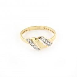 Zlatý prsten R160-319