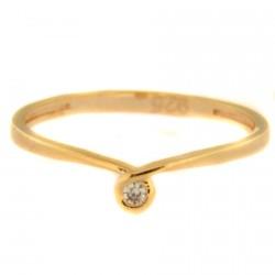Zlatý prsten AYZ0128