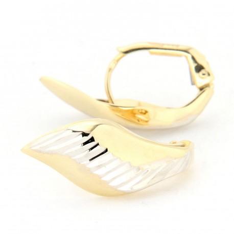 Zlaté náušnice E10340-005