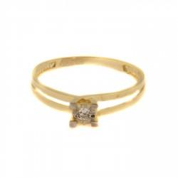 Zlatý prsten R125-965