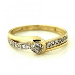 Zlatý prsten PYZ3214