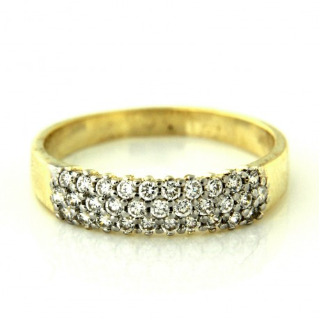 Zlatý prsten R10500-077