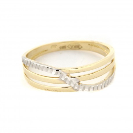 Zlatý prsten PSD283