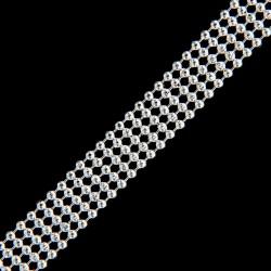 Stříbrný řetízek BEAD120