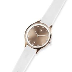 Dámské náramkové hodinky Oliver Weber Speak - 65060 (crystal white)